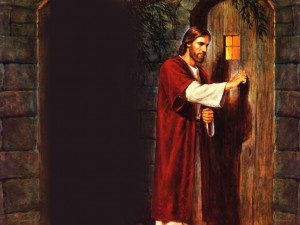 Jesus knock at the door of our lives