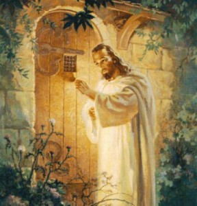 Jesus at the door of our hearts