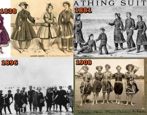 bathing suits in the nineteenth century